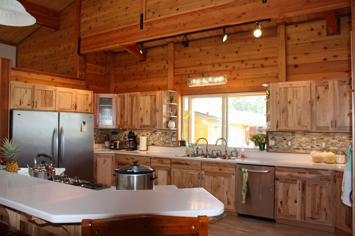 Mauna Loa Cedar Homes Custom Log Cabin Timber